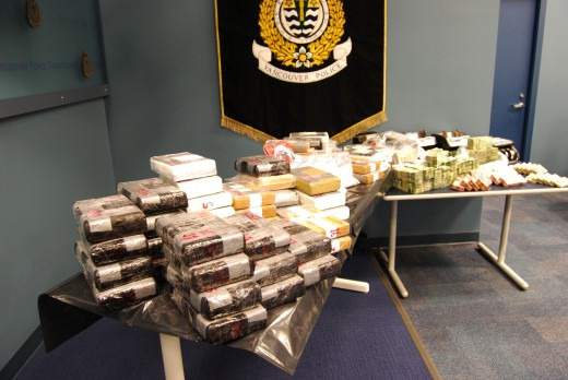 Vancouver Police Discovered 54 Kilos of Cocaine
