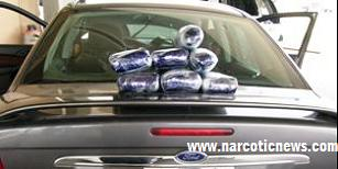 CBP Officers seize over 7 kilos of cocaine hidden in a vehicles dashboard Pharr Texas