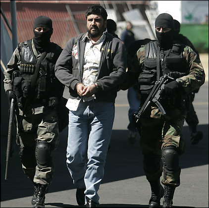Alfredo Beltran Levya, leader of the Sinaloa Cartel, was arrested