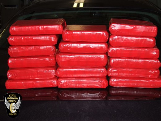Ohio State Troopers seize 17 kilos of cocaine