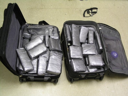 Interdiction deputies find 75 lbs. of marijuana on bus