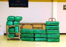 Trooper seizes more than 477 pounds of marijuana