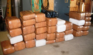 Two from Arizona for having 950 lbs of marijuana