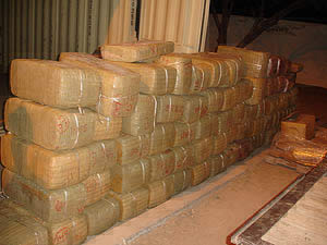 Border Patrol agents seize over 2,000 pounds of marijuana