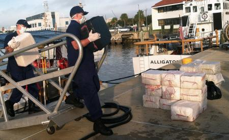 Coast Guard offloads more than $18 million of cocaine
