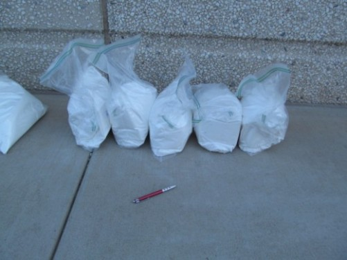 30 pounds of raw Ecstasy seized in Arizona