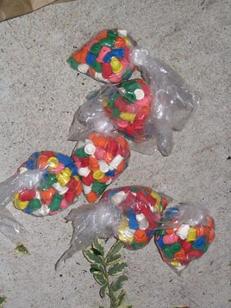 850 balloons of heroin seized