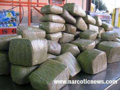 CBP Officers seize 146 pounds of marijuana hidden with a vehicles' roof