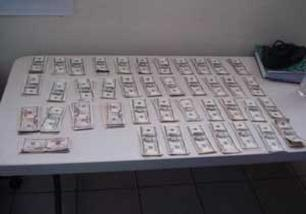 $40,600 in american cash found in Baja California