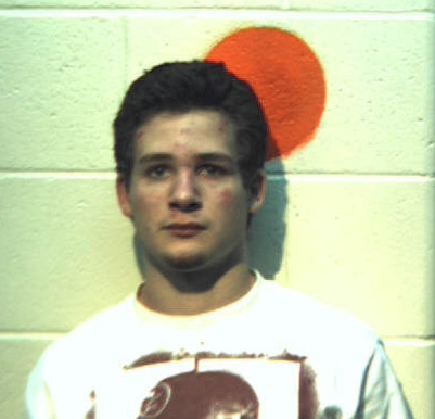 Michael Fongemie mugshot photo from his arrest