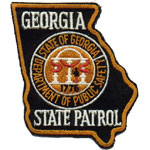 Georgia State Police Patch