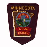 Minnesota state Police Patch