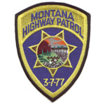 Montana State Police Patch