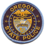 Oregon State Police Patch