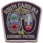 South Carolina State Police Patch