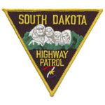 South Dakota State Police Patch