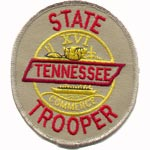 Tennessee State Police Patch