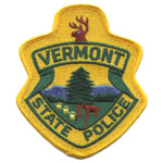 Vermont State Police Patch