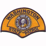 Washington State Police Patch