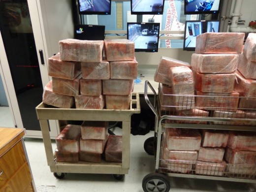 $6.7M Worth of Cocaine Seized at Checkpoint