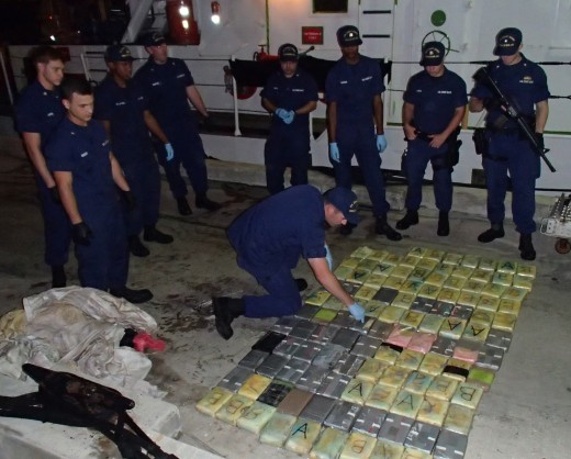 136 Kilos of Cocaine Seized in the Caribbean