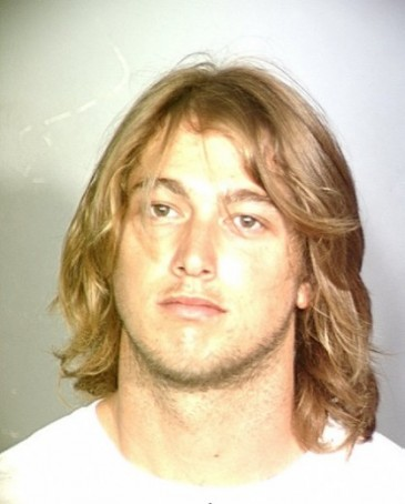 Michael Herda mugshot photo from his arrest