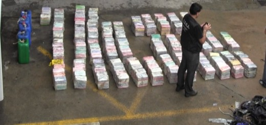 900 Kilos of Cocaine Seized in Spain