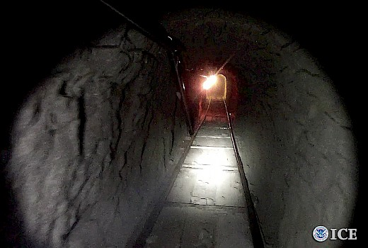 Tunnel from Mexico Discovered along with 17,292 pounds of Marijuana