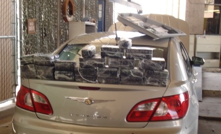 Border Patrol makes Meth Seizure in Calexico, CA