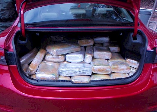 Man Flees Checkpoint with Marijuana in CA