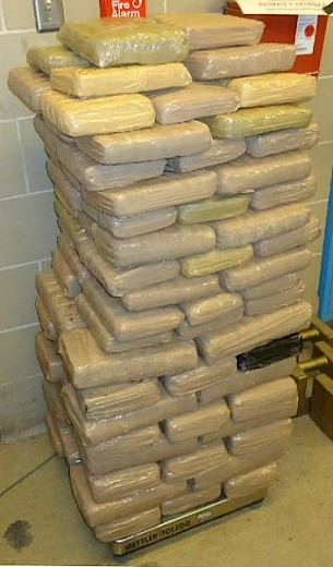 Over 220 Pounds of Marijuana Seized in Arizona