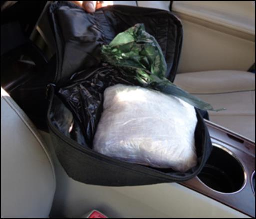 Young Family Busted with Methamphetamine in CA