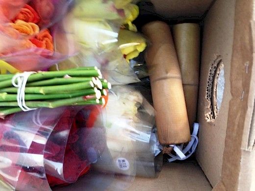 Over 3 Pounds of Heroin Seized Among Flower Bouquets