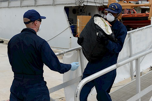1.6 Tons of Cocaine Seized in the Caribbean